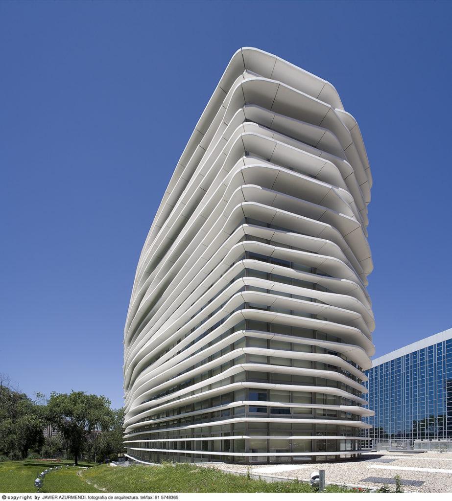 Edificios de oficinas en la m30 madrid junquera arquitectos - Arquitectos en espana ...